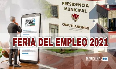 Feria del empleo en Cuautlancingo